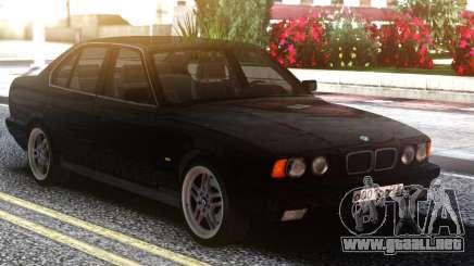 BMW E34 525 Classic Black Edition para GTA San Andreas