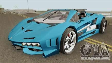 Pegassi Lampo X19 GTA V IVF para GTA San Andreas