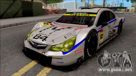 Subaru Legacy B4 GT300 2011 para GTA San Andreas