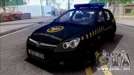 Opel Astra H Terror Elharitasi Kozpont para GTA San Andreas