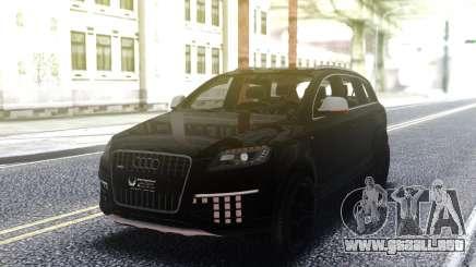 Audi Q7 Edition Black para GTA San Andreas