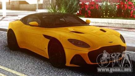 Aston Martin DBS Supperleggera 2019 para GTA San Andreas
