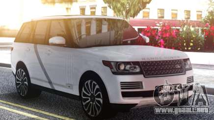 Range Rover Autobiography para GTA San Andreas