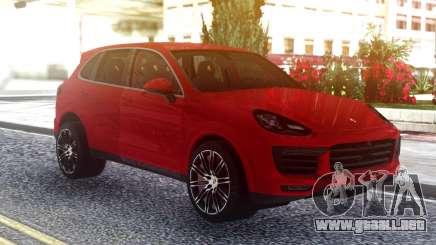 Porsche Cayenne Turbo S Red Original para GTA San Andreas