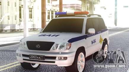 Lexus LX470 VAI para GTA San Andreas