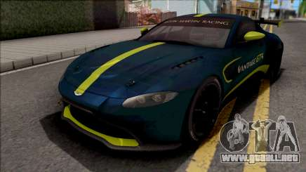 Aston Martin Vantage 59 GT4 2019 para GTA San Andreas