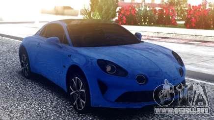 Renault Alpine A100 para GTA San Andreas