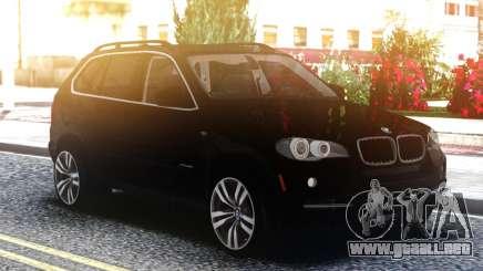 BMW X5 Black para GTA San Andreas