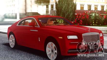 Rolls-Royce Wraith Red Coupe para GTA San Andreas