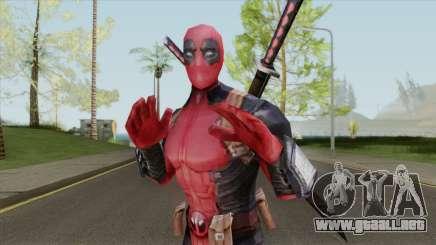 Deadpool From Marvel Super Wars para GTA San Andreas