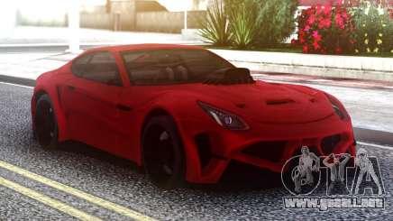 Ferrari FF Red para GTA San Andreas