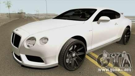 Bentley Continental HQ para GTA San Andreas