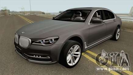 BMW 7-Series Design Pure para GTA San Andreas