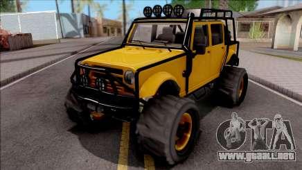 GTA V Canis Mesa para GTA San Andreas