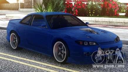 Nissan Silvia S15 Blue para GTA San Andreas