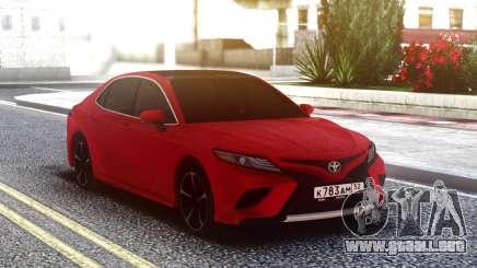 Toyota Camry V70 para GTA San Andreas