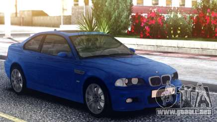 BMW M3 E46 Blue Coupe para GTA San Andreas