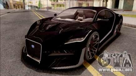 GTA V Truffade Thrax Divo Style para GTA San Andreas
