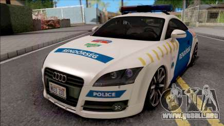 Audi TT Magyar Rendorseg Updated Version para GTA San Andreas