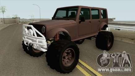 Canis Mesa GTA V para GTA San Andreas