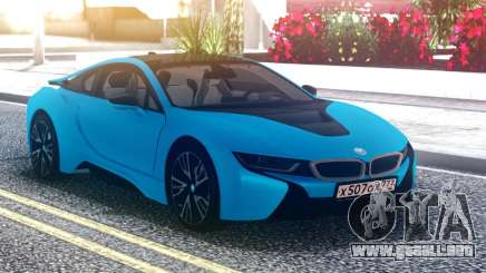 BMW i8 Blue para GTA San Andreas