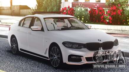 BMW 540i G30 White Edition para GTA San Andreas