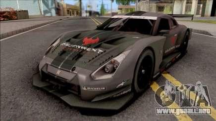 Nissan GT-R R35 Nismo GT500 2008 para GTA San Andreas