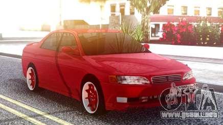 Toyota Mark II Original Red para GTA San Andreas