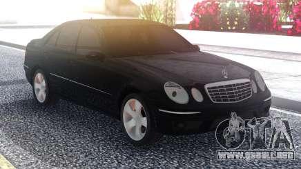Mercedes-Benz E63 W211 Black para GTA San Andreas
