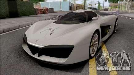 Pininfarina H2 Speed 2017 para GTA San Andreas