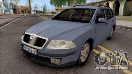 Skoda Octavia Kombi Mk2 para GTA San Andreas