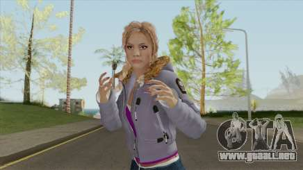 Until Dawn Jessica Outdoor para GTA San Andreas