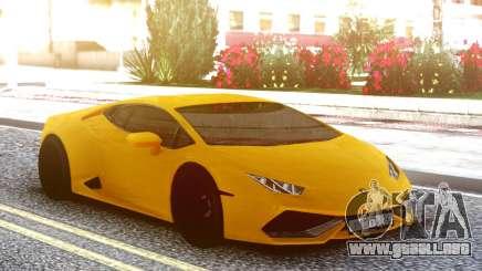 Lamborgini Huracan Yellow Original para GTA San Andreas