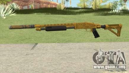 Shrewsbury Pump Shotgun (Luxury Finish) GTA V V5 para GTA San Andreas