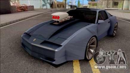 Pontiac Trans AM 1987 Coupe para GTA San Andreas