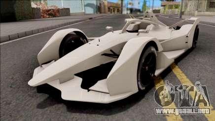 Spark SRT05e 2018 Formula E para GTA San Andreas