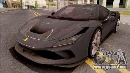 Ferrari F8 Tributo 2019 para GTA San Andreas