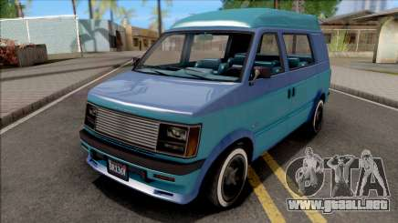 GTA V Declasse Moonbeam para GTA San Andreas