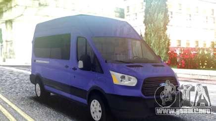 Ford Transit 2020 para GTA San Andreas