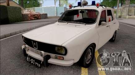Dacia 1301 1971 Soviet Medical Service para GTA San Andreas