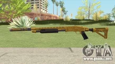 Shrewsbury Pump Shotgun (Luxury Finish) GTA V V2 para GTA San Andreas