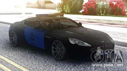 Aston Martin DB9 2013 LAPD para GTA San Andreas