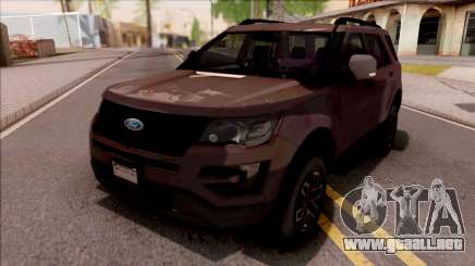 Ford Explorer 2019 para GTA San Andreas