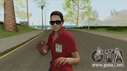 Forca Nacional Pericia Skin para GTA San Andreas
