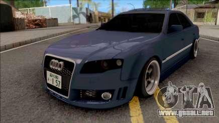 Toyota Mark II Blue para GTA San Andreas