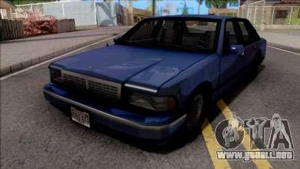 Chevrolet Caprice 1992 SA de Estilo para GTA San Andreas