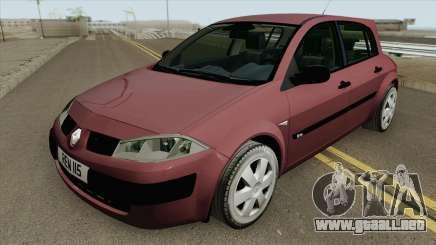 Renault Megane 2002 para GTA San Andreas