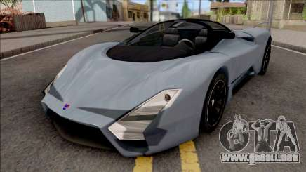 SSC Tuatara 2011 Low Reflections Style para GTA San Andreas