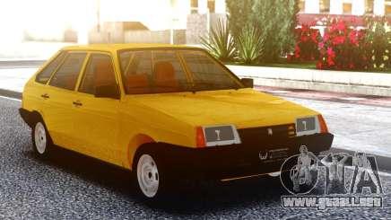 VAZ-2108 Amarillo para GTA San Andreas