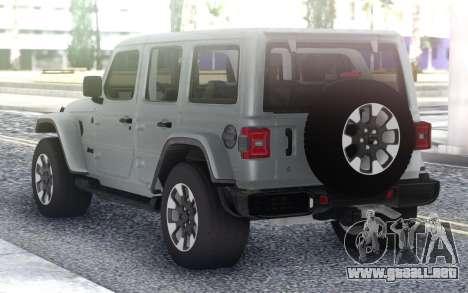 Jeep Wrangler 2018 para GTA San Andreas